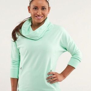 Lululemon cowl neck sweater